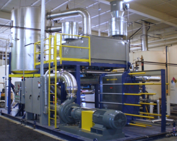 Vacom Systems Metal Manufacturing Water Treatment